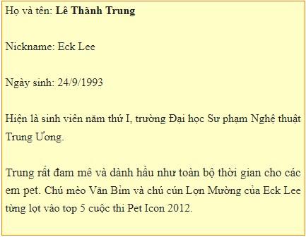 Linh Rin có cậu bạn Eck Lee sở hữu có lúc tới 30 em thú cưng trong nhà