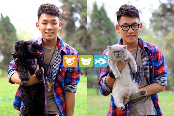 Linh Rin yêu thú cưng có cậu bạn Eck Lee cũng vậy