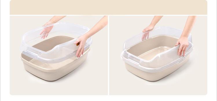 Khay vệ sinh cho mèo Makar nhà bạn thì luôn sạch sẽ và hợp vệ sinh - phụ kiện thú cưng Petplaza