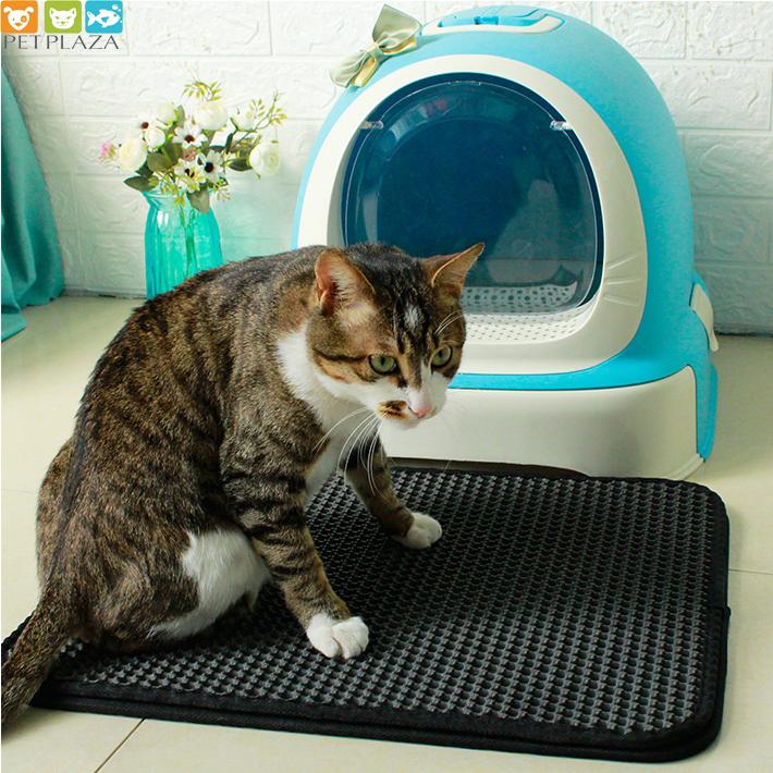 Nhà vệ sinh mèo có nơ Makar - PetPlaza - phụ kiện thú cưng