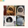 Bộ sản phẩm theo nhà vệ sinh mèo có nơ Makar - Phụ kiện chó mèo PetPlaza