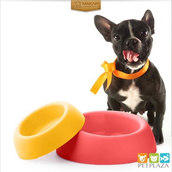 Bát ăn cho chó mèo Makar Splashproof bát vát cạnh - chăm sóc thú cưng