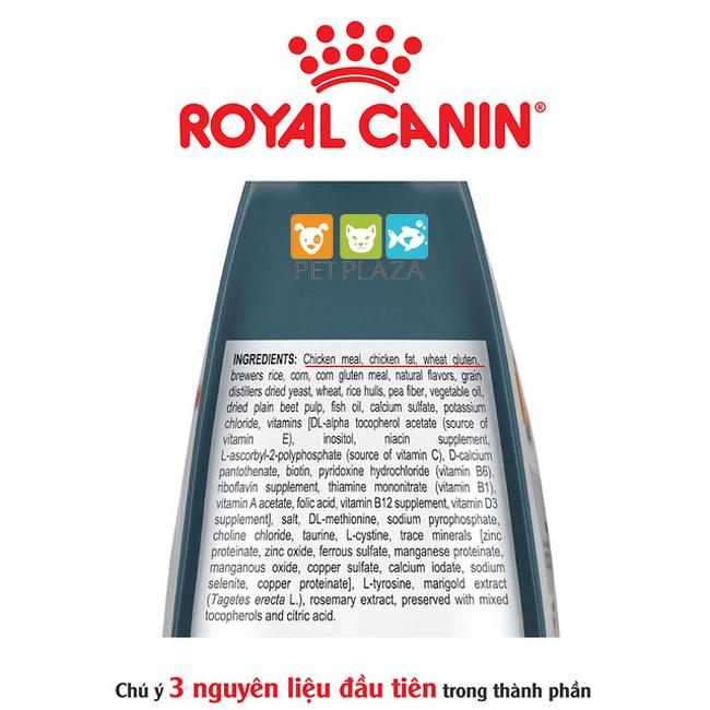Cách đọc hiểu thông tin trên bao bì thức ăn cho chó mèo - phụ kiện thú cưng pet plaza