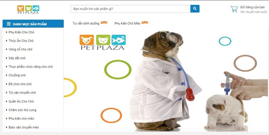Hướng dẫn mua hàng Pet Plaza