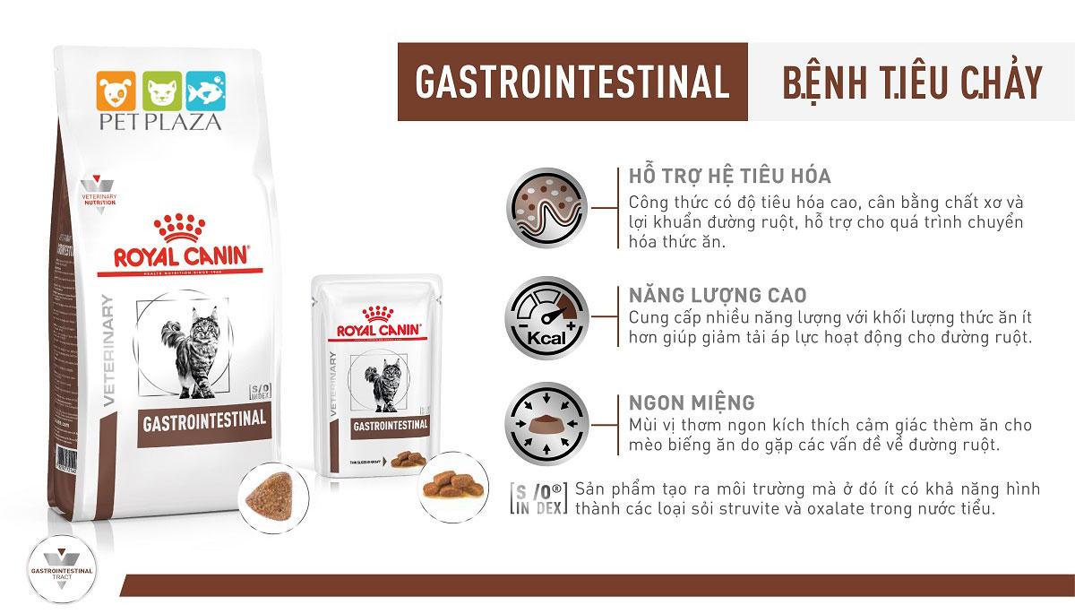 Royal canin gastrointestinal - Thức ăn cho mèo gặp vấn đề về tiê.u hóa