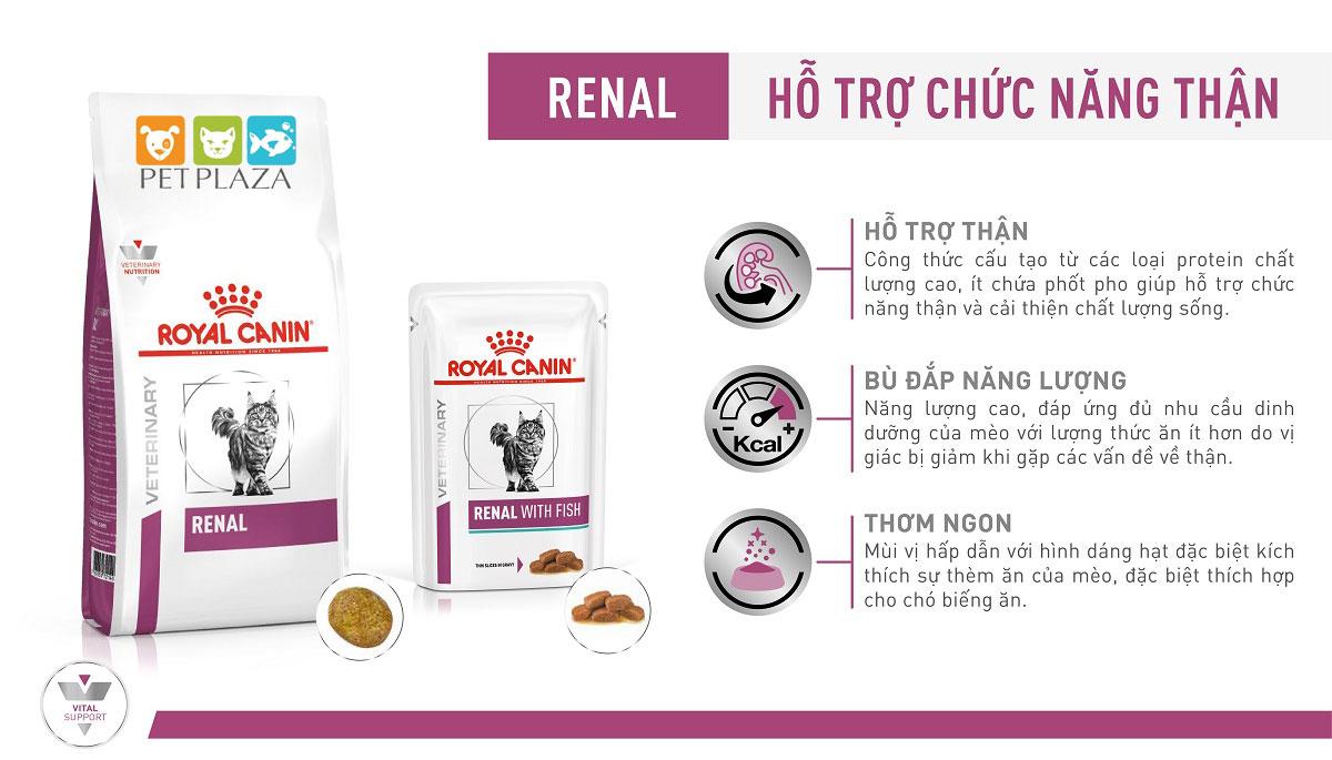 ROYAL CANIN RENAL CAT - Thức ăn cho mèo bị bệnh thận