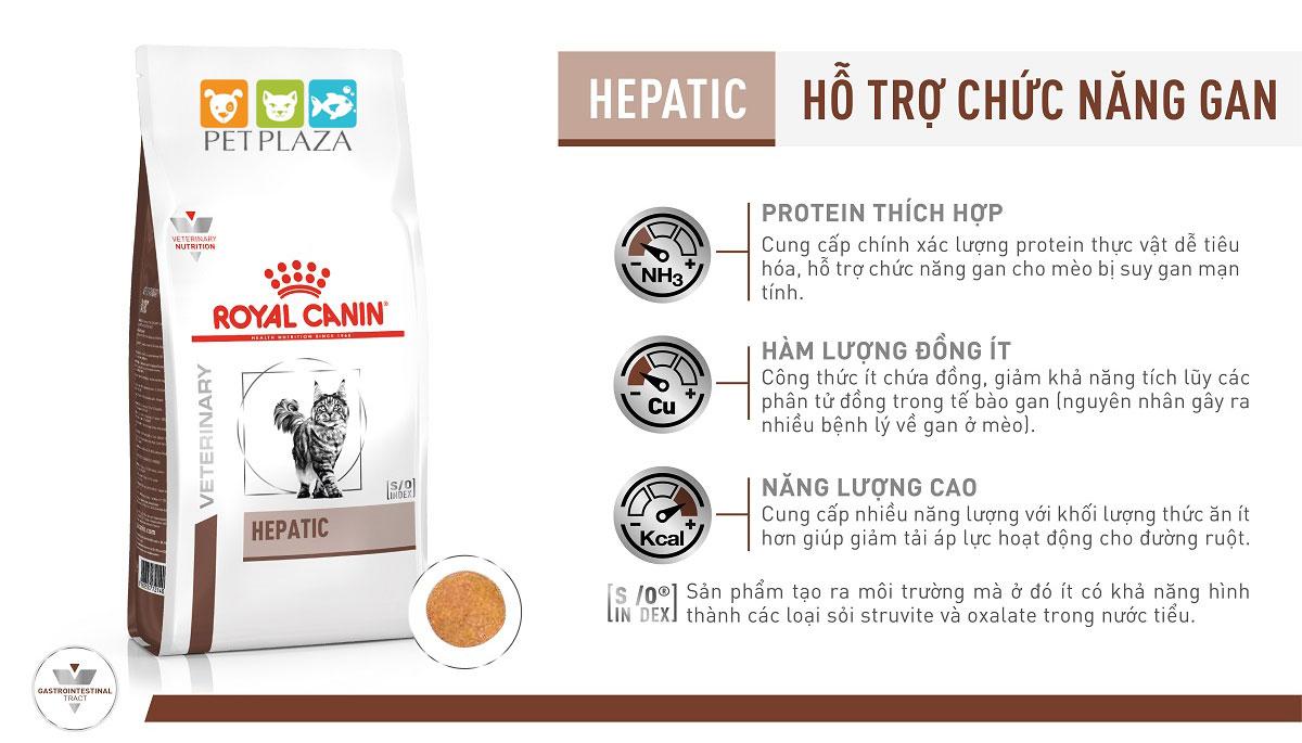 ROYAL CANIN HEPATIC CAT - Thức ăn cho mèo bị bệnh gan