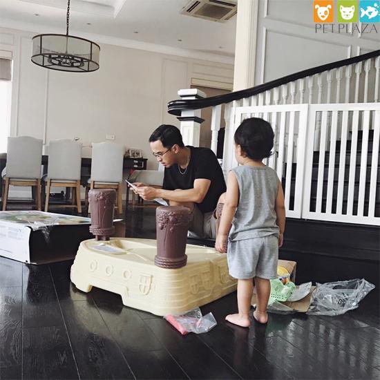 Hết khoe chồng, Tăng Thanh Hà lại khoe hai thú cưng đã lớn và đáng yêu thế này - phụ kiện thú cưng