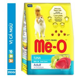 Me-O vị Cá ngừ 350g - Thức ăn cho Mèo trưởng thành dạng Hạt - Phụ kiện thú cưng Pet Plaza
